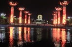 Сиань. Памятник Цинь Шихуанди