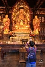 Сиань. В храме Большая Пагода Дикого гуся