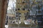 Монтевидео.  Фонтан на площади Конституции.
