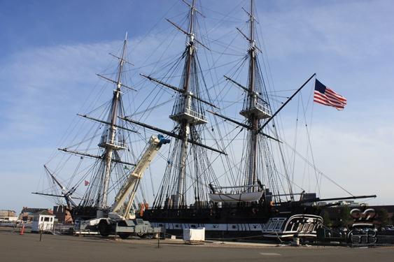 Бостон. Корабль