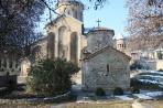 Мцхета. Женский монастырь. На переднем плане часовня Св. Нино, IV век.