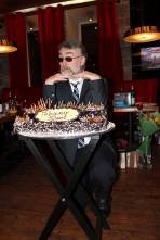 Празднование пятидесятилетия Джулиано Бруни